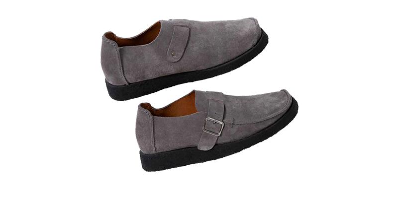 パドモア&バーンズに別注したスエード靴について