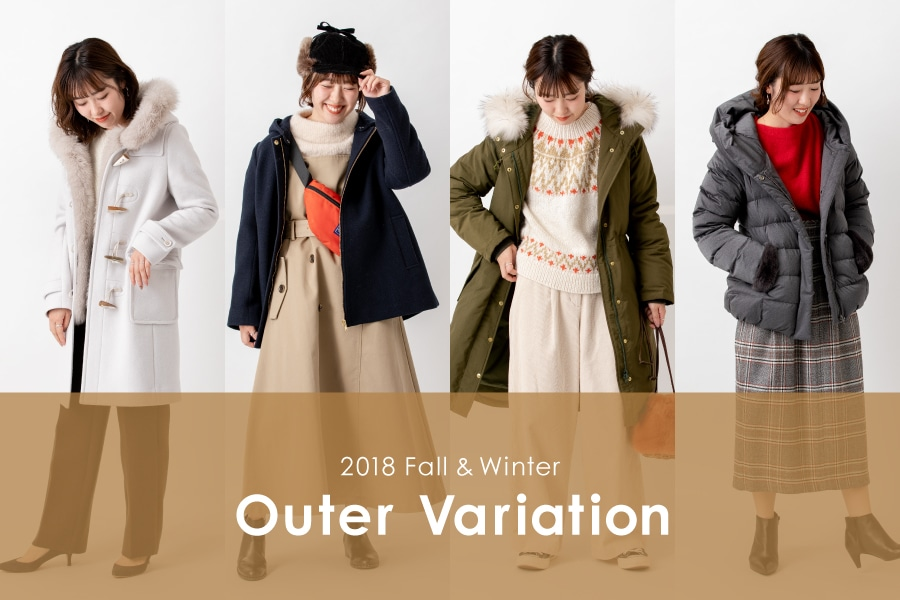 【SHIPS WOMEN】OUTER VARIATION for women