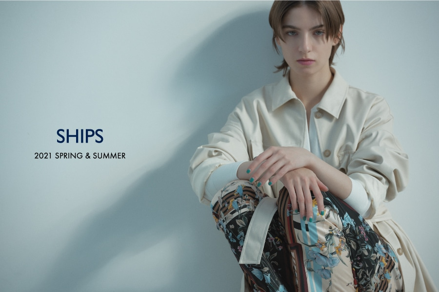 SHIPS  FOR WOMEN  2021 SPRING & SUMMER well feeling, at ease