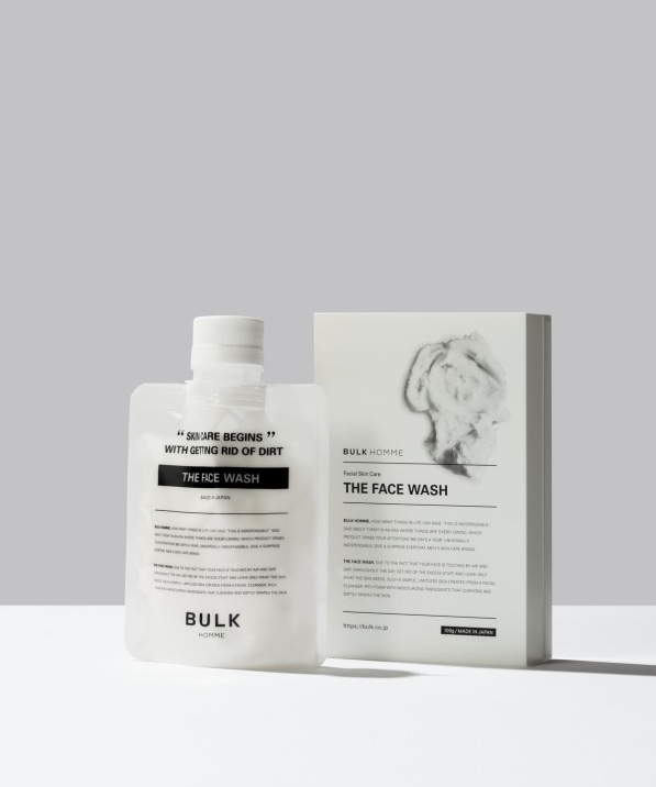 BULK HOMME: THE FACE WASH/ザ フェイス ウォッシュ (洗顔料)