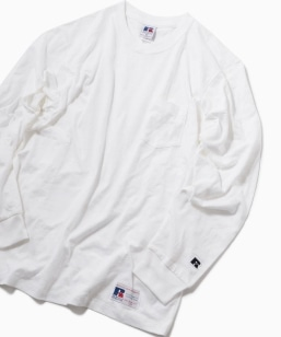 RUSSELL ATHLETIC×SHIPS: 別注 ユーズド加工 ロングTシャツ 19SS