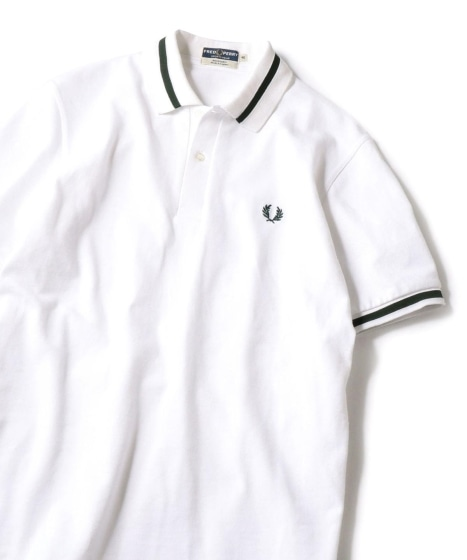 【Begin5月号掲載】FRED PERRY: SHIPS別注 ENGLAND ポロシャツ19SS