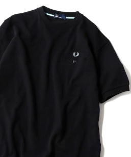 FRED PERRY: SHIPS別注 ピケ ポケット Tシャツ