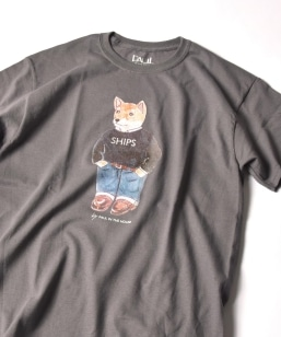 PAUL IN THE HOUSE: SHIPSロゴ DOG Tシャツ
