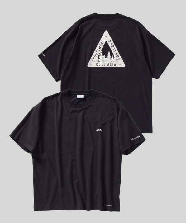 【SHIPS別注】Columbia: RED HILL BUTTE Tシャツ
