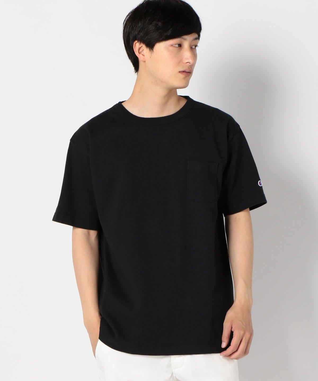 be8bfa615d4322 ... MADE IN USA T1011 ポケット Tシャツ. ホワイト. MODEL:180cm B87 W69 H90 着用サイズ:LARGE.  ブラック. ネイビー. ホワイト; ブラック; ネイビー