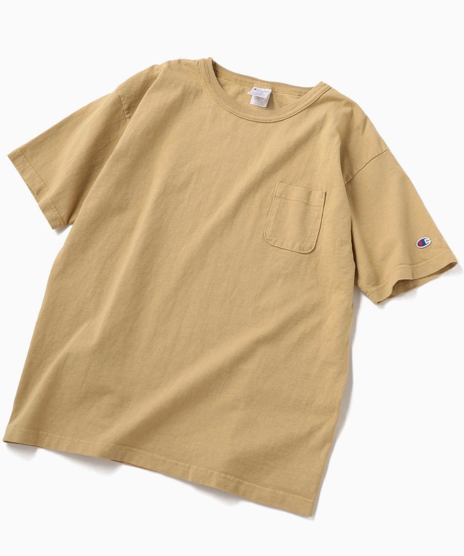 7b7cc6d5036d85 ... ポケット Tシャツ <MADE IN USA/T1011>. パープル. ベージュ. パープル; ベージュ
