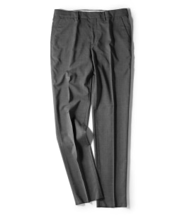 BARENA: WOOL GRAY TROUSERS PANTS