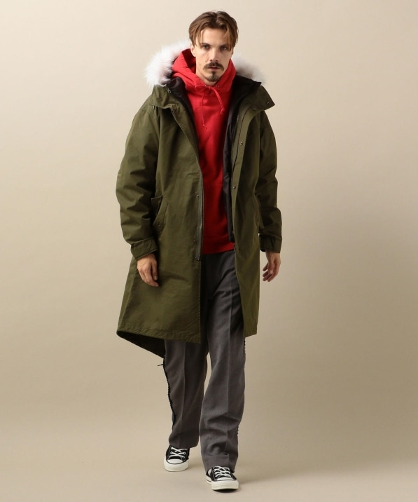 FRED PERRY: SHIPS別注 3WAY フィッシュテール モッズパーカー 19FW