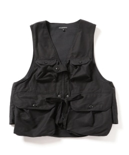 ENGINEERED GARMENTS: GAME VEST DOUBLE CLOTH
