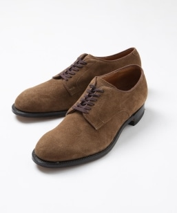 ALDEN:P-TOE SUEDE MODIFIED