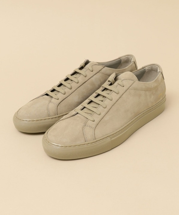 COMMON PROJECTS: Achilles ヌバック スニーカー