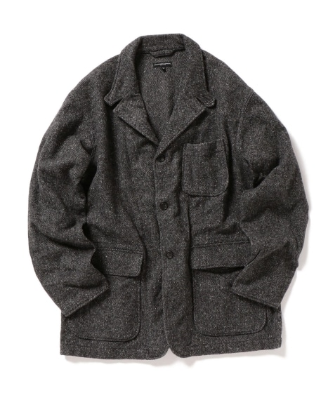 ENGINEERED GARMENTS: LOITER JACKET POLY WOOL HB