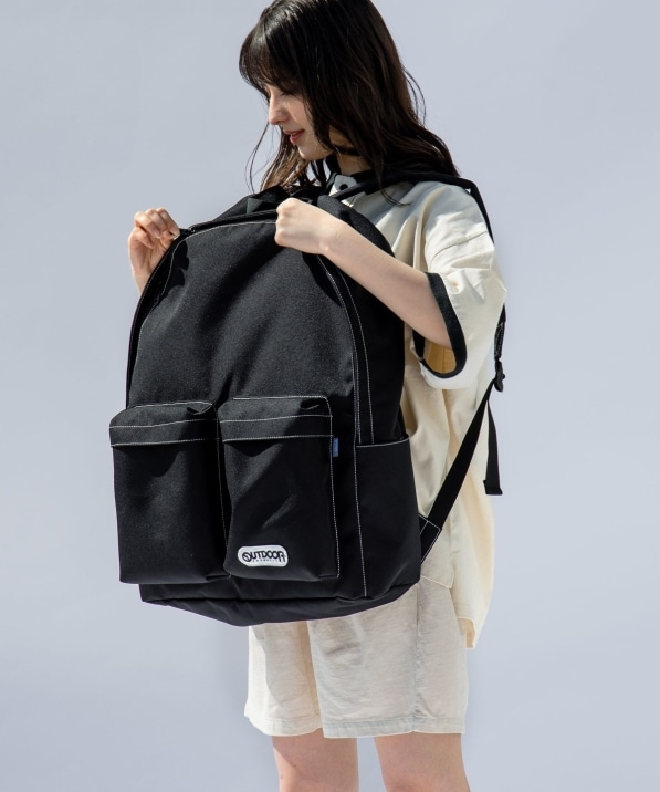【WEB限定/SHIPS別注】OUTDOOR: Roots ビッグサイズ バックパック
