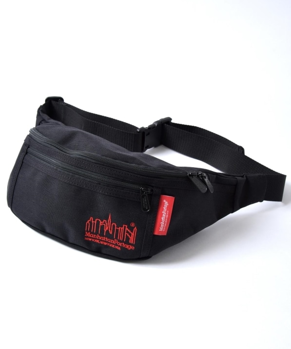 Manhattan Portage: 別注 Embroidery Alleycat Waist Bag