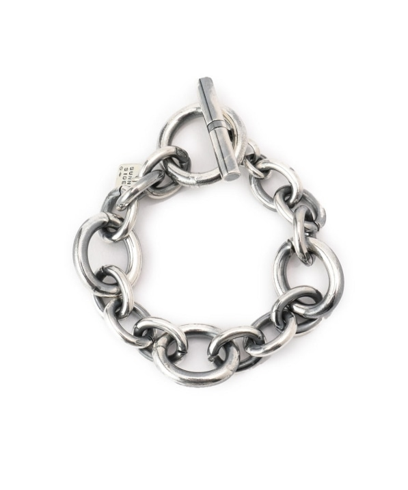 on the sunny: OVAL L&S CHAIN ブレスレット