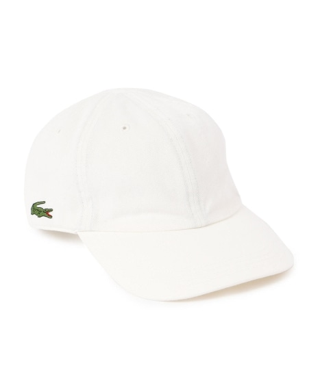 LACOSTE: 6PANEL キャップ