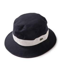 LACOSTE:  CLM1131 リバーシブルバケットハット