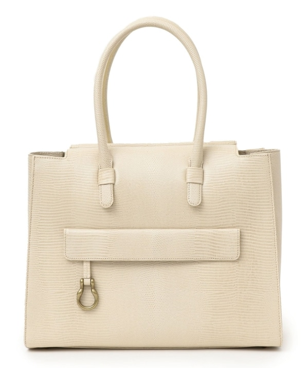 TOFF&LOADSTONE:Lady light tote Lizard