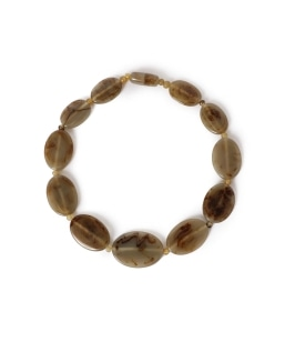 Marion Godart:BEIGE SHORT NECKLACE
