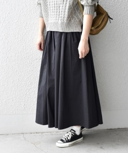 【SHIPS Days WHITE LABEL】ギャザースカート FW