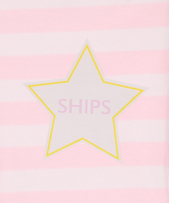 6cdc2f23f2f44f ... ルームウェア/パジャマ > SHIPS KIDS:SHIPS KIDS:ボーダー パジャマ(80~90cm). ピンク. ライトグレー