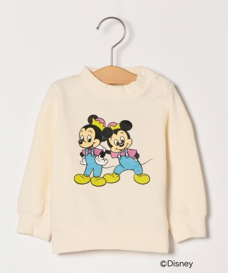 SHIPS DISNEY COLLECTION:プリント スウェット(80〜90cm)