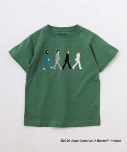 SHIPS KIDS:<パパとおそろい>【THE BEATLES(ザ・ビートルズ)】TEE(100〜130cm)