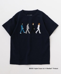 SHIPS KIDS:<パパとおそろい>【THE BEATLES(ザ・ビートルズ)】TEE(145〜160cm)
