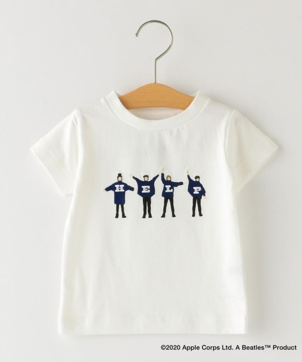 SHIPS KIDS:<パパとおそろい>【THE BEATLES(ザ・ビートルズ)】TEE(80〜90cm)