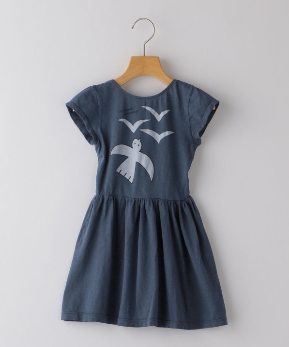 The Animals Observatory:Butterfly Dove Dress(100〜120cm)
