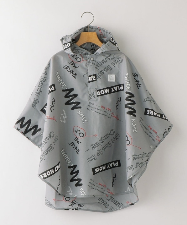 THE PARK SHOP:NO RAIN PONCHO kids