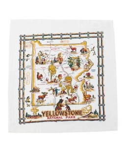 RED AND WHITE KITCHEN COMPANY:Flour sack towel
