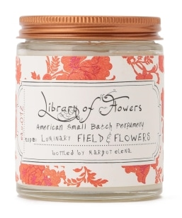 Library of flowers:CANDLE