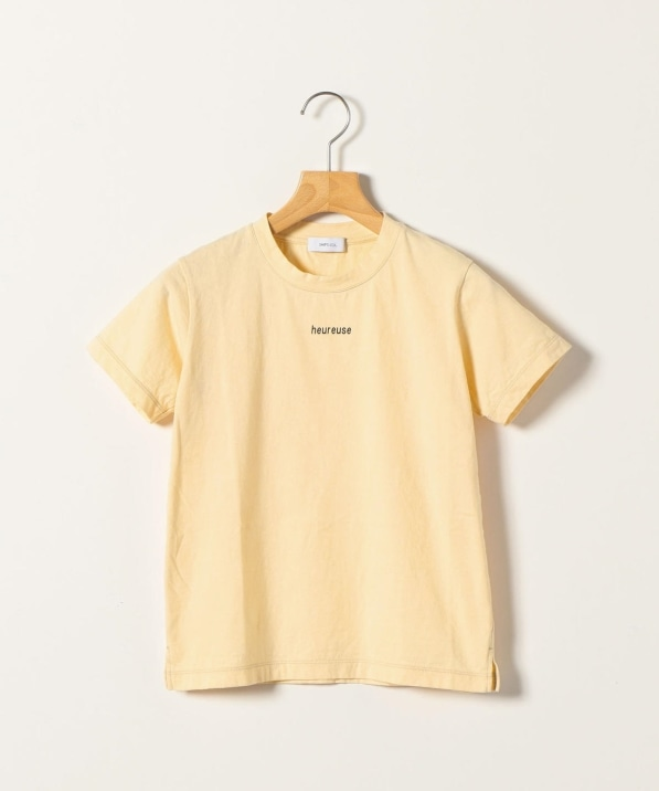 SHIPS any: オゾン heureuse ロゴTシャツ<KIDS>