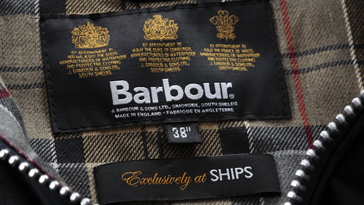 Barbour Exclusively at SHIPS