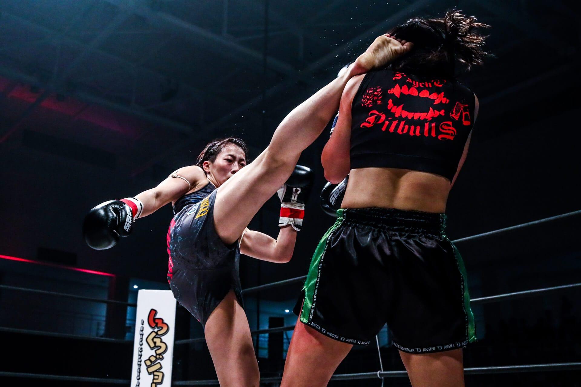 女子人気の高いキックボクシング...